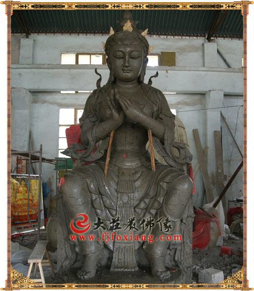 天宫弥勒泥塑佛像