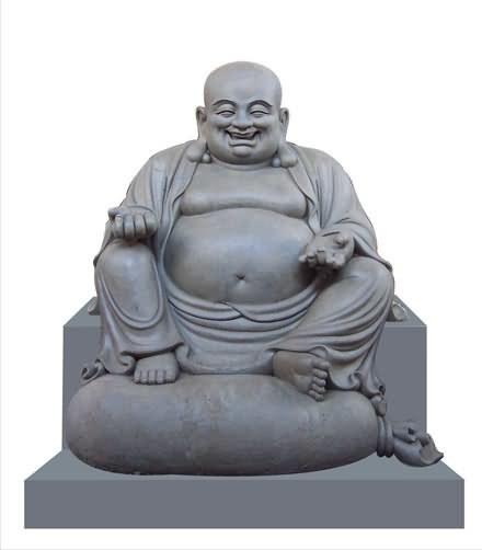 弥勒佛泥塑像