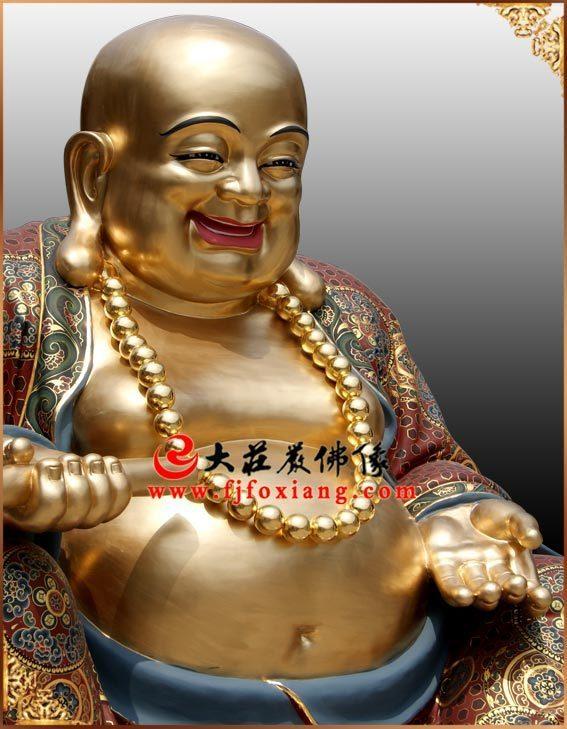 脱胎弥勒佛像