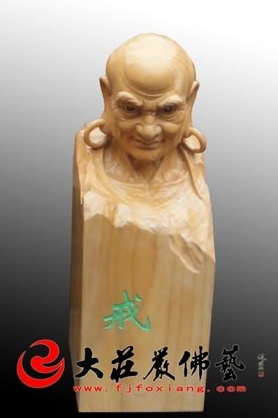 木雕十八罗汉