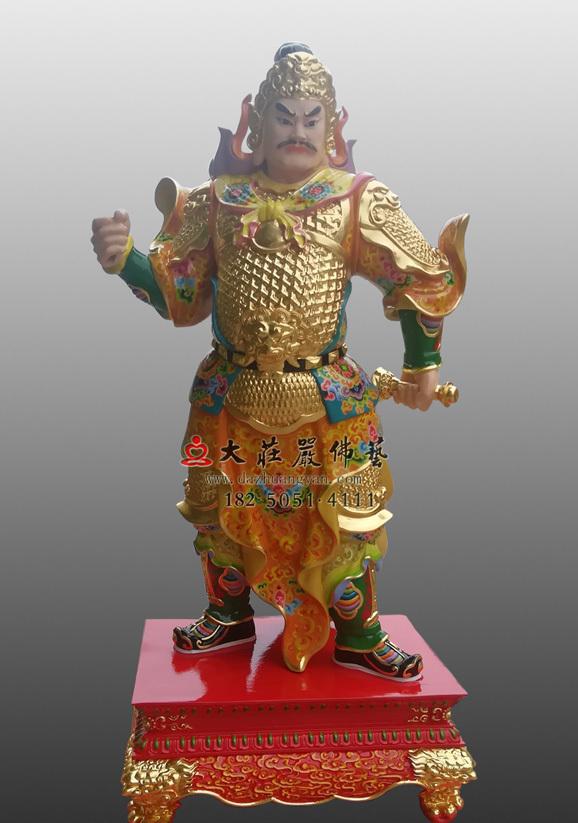 甲子神王文卿神像